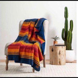 New Pendleton Soft Fleece Blanket Twin 62in x 92in